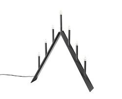 SMD Design Spica adventsljusstake 7 grå
