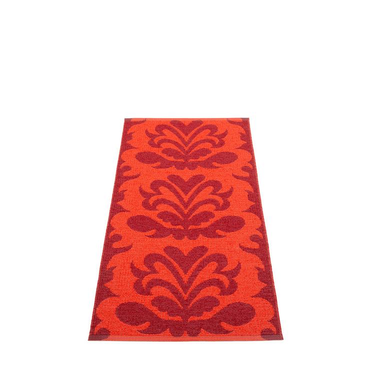 Pappelina matta Siri dark red · coral red 70x150 cm