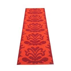 Pappelina matta Siri dark red · coral red 70x250 cm