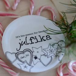"Erika Tubbin minibricka ""Swedish julfika"""
