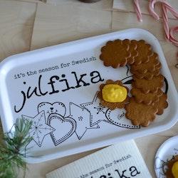 """Erika Tubbin """"Swedish julfika"""" bricka"""