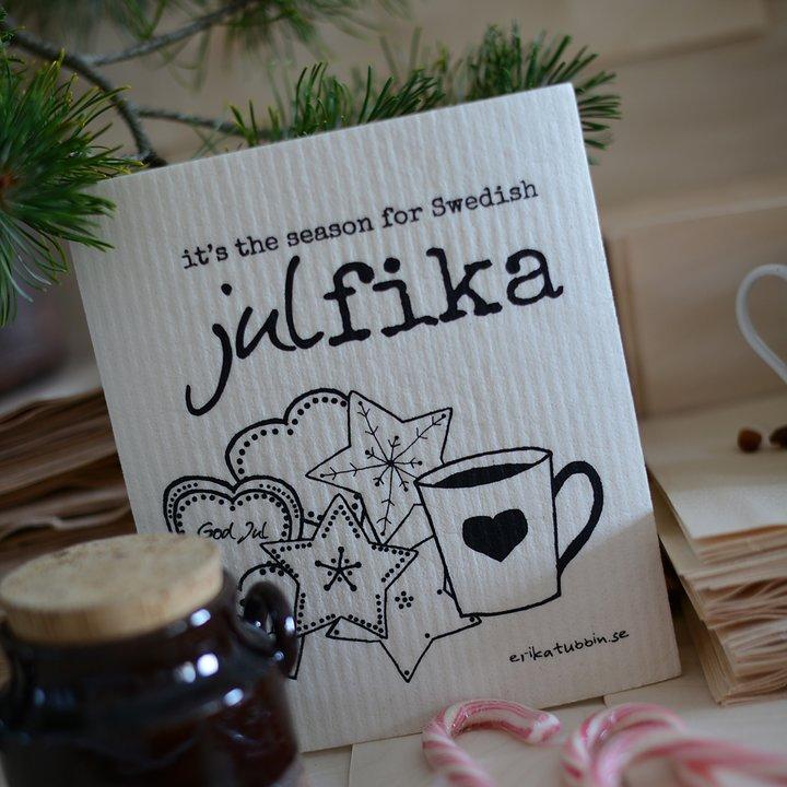 "Erika Tubbin disktrasa ""Swedish julfika"""
