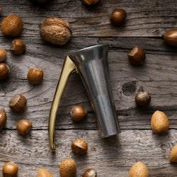 Drosselmeyer nötknäckare zink och guld