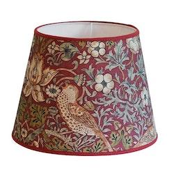 Hallbergs Nutcracker lampskärm röd