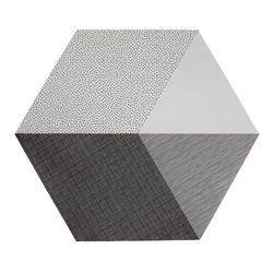 By May Polygon bordstablett 2-pack Concrete