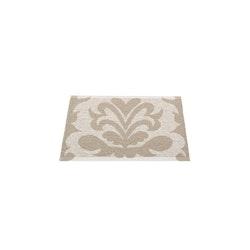 Pappelina matta Siri stone metallic· dark linen 70x50 cm