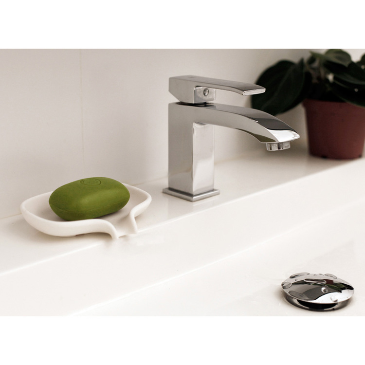 Bosign tvålfat Soap Saver Flow vit stor