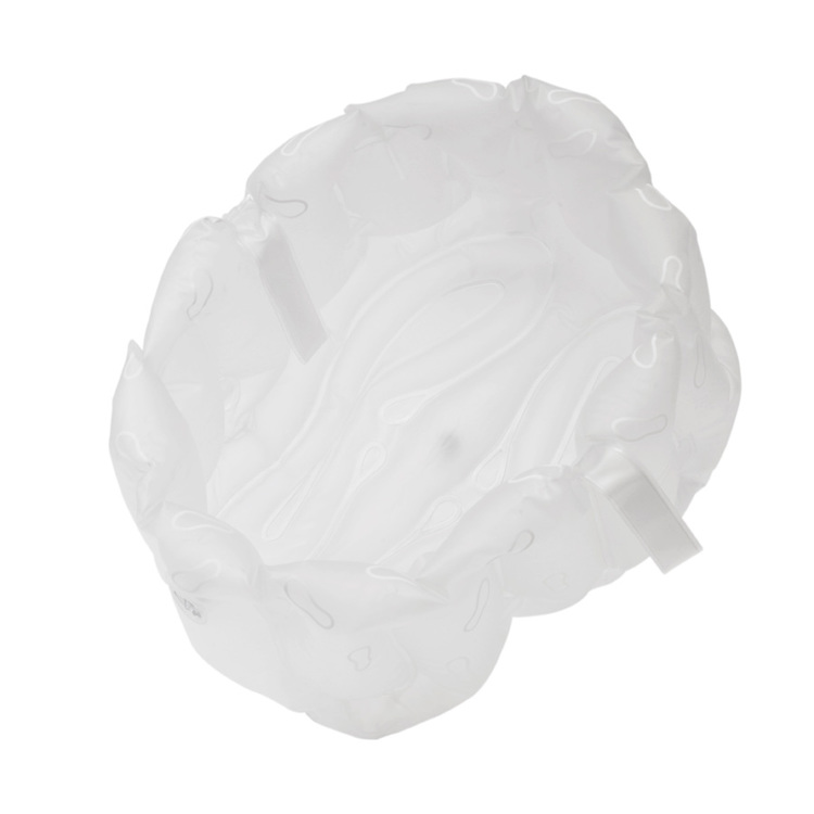 Bosign uppblåsbart fotbad vit