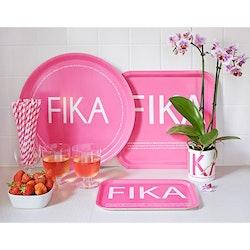FIKA Mugg med rosa text