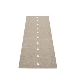 Pappelina matta Peg Dark linen· Vanilla
