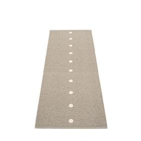 Pappelina matta Peg Dark linen · Vanilla