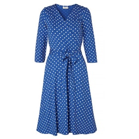 Jumperfabriken Celia Dot dress blue