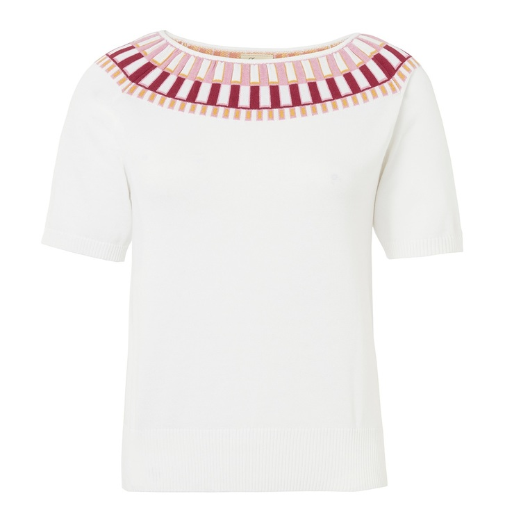 Jumperfabriken Esme jumper white