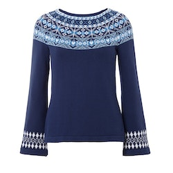 Jumperfabriken Vera jumper navy