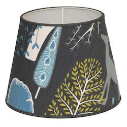 Spira of Sweden Sagoskog lampskärm blå