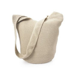 Ceannis Crochet Body Bag seashell