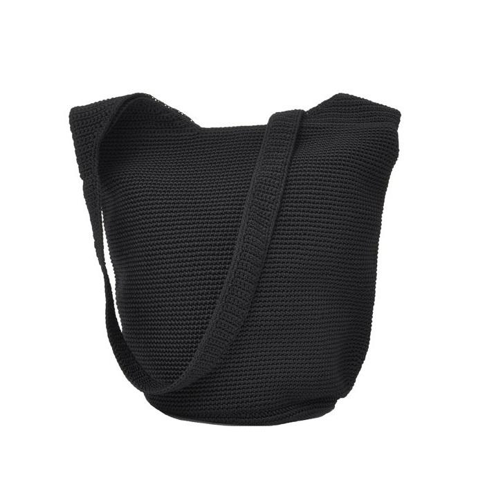 Ceannis Crochet Body Bag black