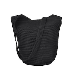 Ceannis Crochet Body Bag black