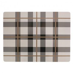 Dekohem bordstablett Tartan Smoke 4-pack