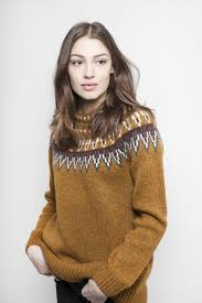 Jumperfabriken Veda jumper yellow