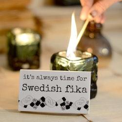 "Erika Tubbin ""Swedish Fika"" tändstickor"