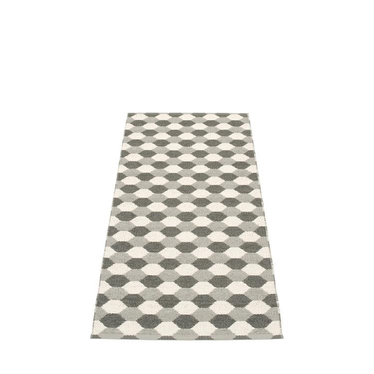 Pappelina matta Dana Warm Grey · Charcoal · Vanilla