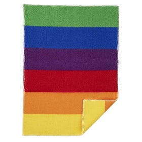 Klippan Yllefabrik ullfilt Rainbow