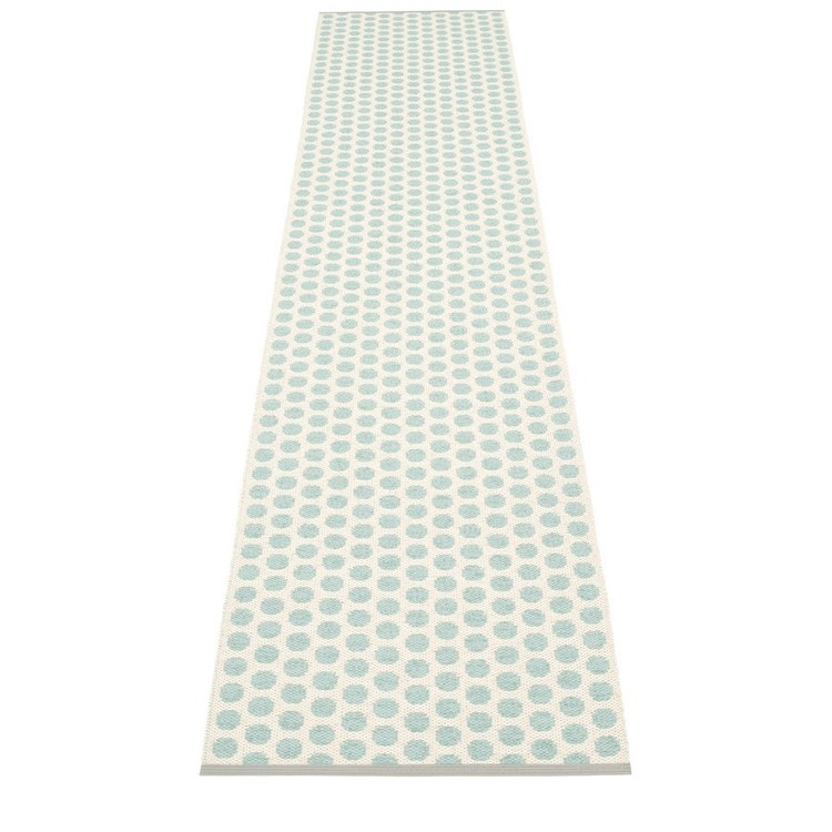 Pappelina matta Noa Pale turquoise · Vanilla · Warm grey edge