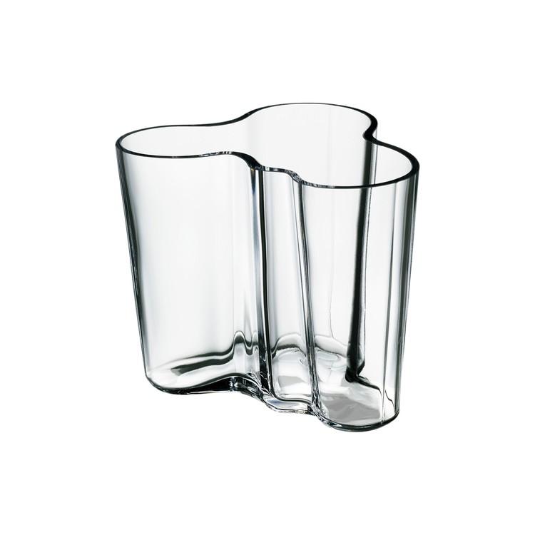 Iittala Alvar Aalto vas 95 mm klar