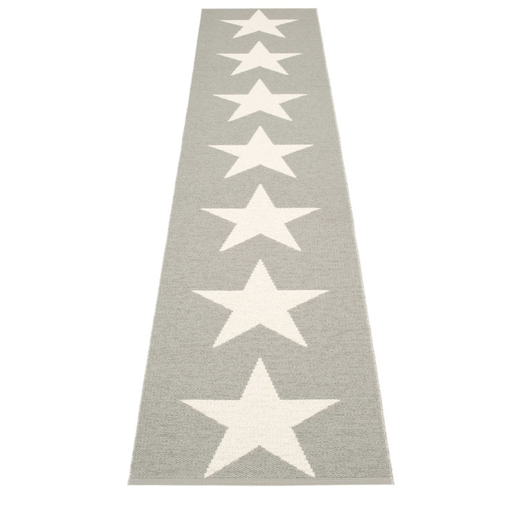 Pappelina matta Viggo One Warm Grey · Vanilla