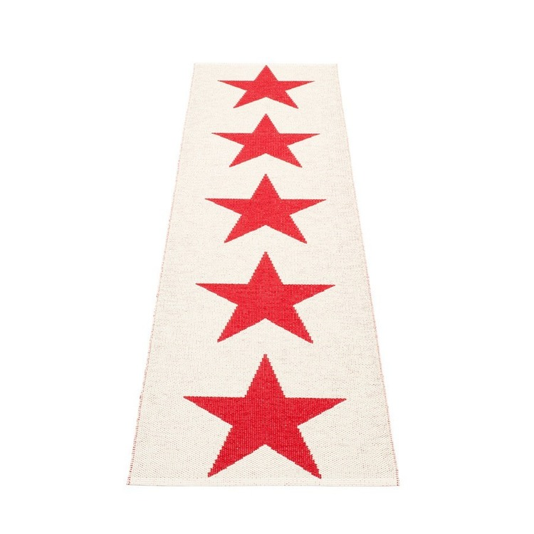 Pappelina matta Viggo One Red · Vanilla