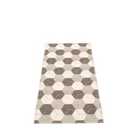 Pappelina matta Trip Dark Mud · Linen · Vanilla