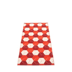 Pappelina matta Trip Berry · Coral Red · Vanilla