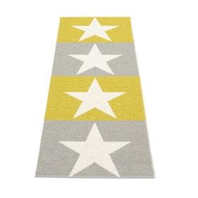 Pappelina matta Viggo Warm grey · Mustard · Vanilla