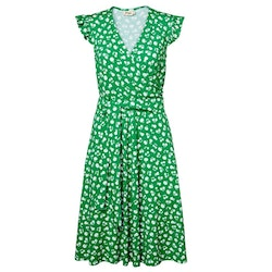 Jumperfabriken Dani dress green