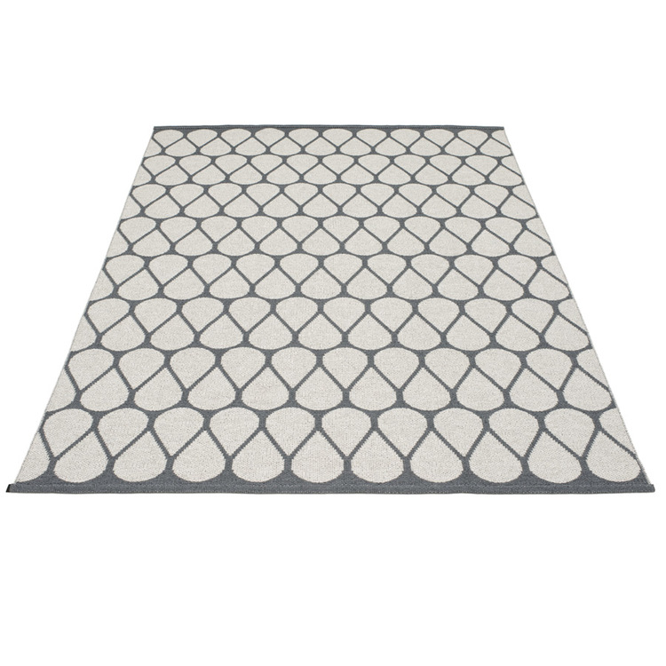 Pappelina matta Otis Granit · Fossil grey 180x275 cm