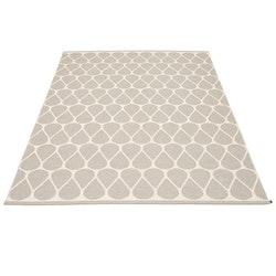Pappelina matta Otis Linen · Vanilla 180x275 cm