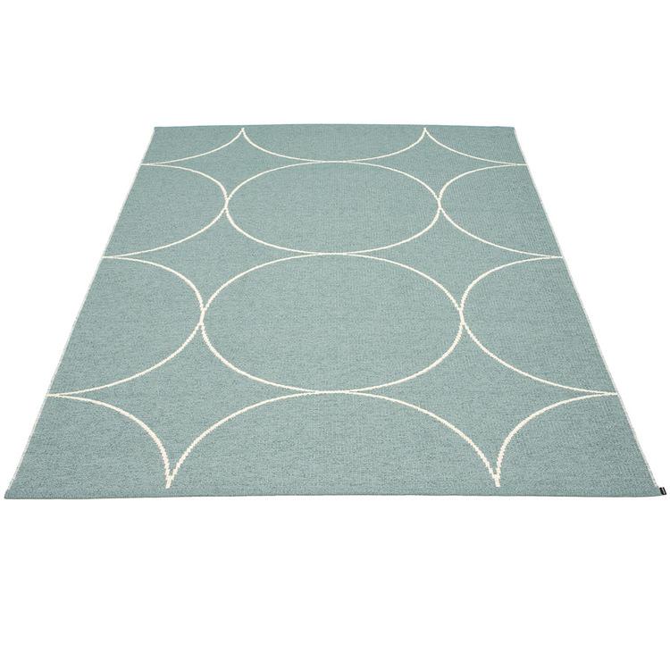 Pappelina matta Boo Haze · Vanilla 180x275 cm