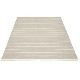 Pappelina matta Carl Linen · Beige 180x260 cm