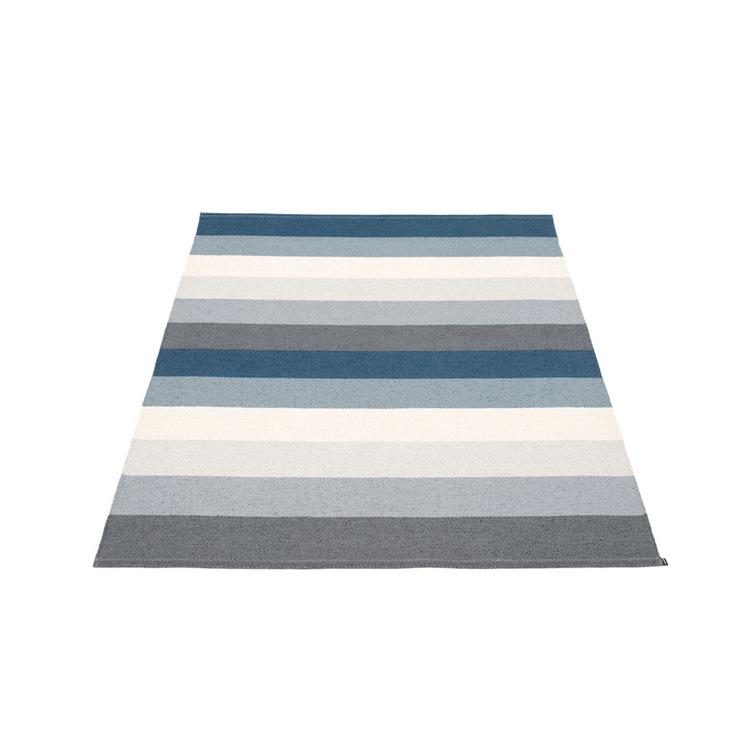 Pappelina matta Molly Ocean Grey 140x200 cm