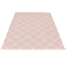 Pappelina matta Regina Pale Rose · Vanilla 180x275 cm