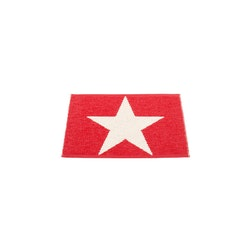 Pappelina matta Viggo One Red · Vanilla 70x50 cm