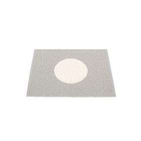 Pappelina matta Vera small one Warm grey · Vanilla 70x90 cm