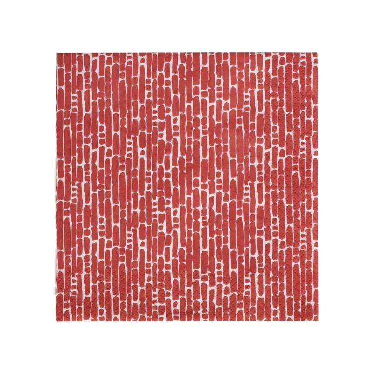 Iittala Ultima Thule pappersservett röd
