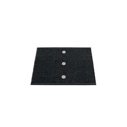 Pappelina matta Peg Black · Linen 70x60 cm