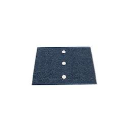 Pappelina matta Peg Dark Blue · Vanilla 70x60 cm