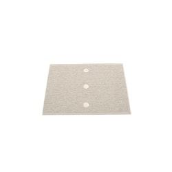 Pappelina matta Peg Linen · Vanilla 70x60 cm