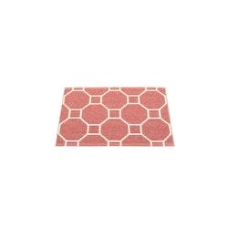 Pappelina matta Rakel Blush · Vanilla 70x50 cm
