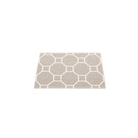 Pappelina matta Rakel Warm Grey · Vanilla 70x50 cm