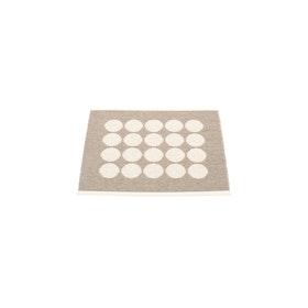 Pappelina matta Fia Mud · Vanilla 70x60 cm